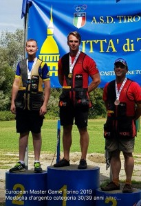 Enrico Munaro medaglia d'argento categoria 30/39 anni.