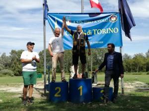 Diego Antonietti 1° medaglia d'oro categoria 70/79 anni.