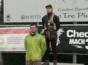 Davide Gaspari Campione regionale Juniores